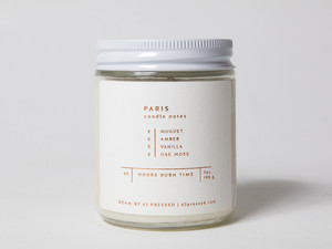 ROAM by 42 Pressed Scented Candle Paris
