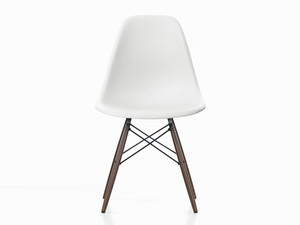 View Clearance Vitra DSW Eames Plastic Side Chair White