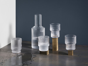 View Ferm Living Ripple Glass (set of 4)