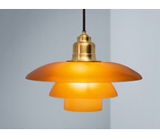 Louis Poulsen PH 3½-3 Amber Glass Limited Edition