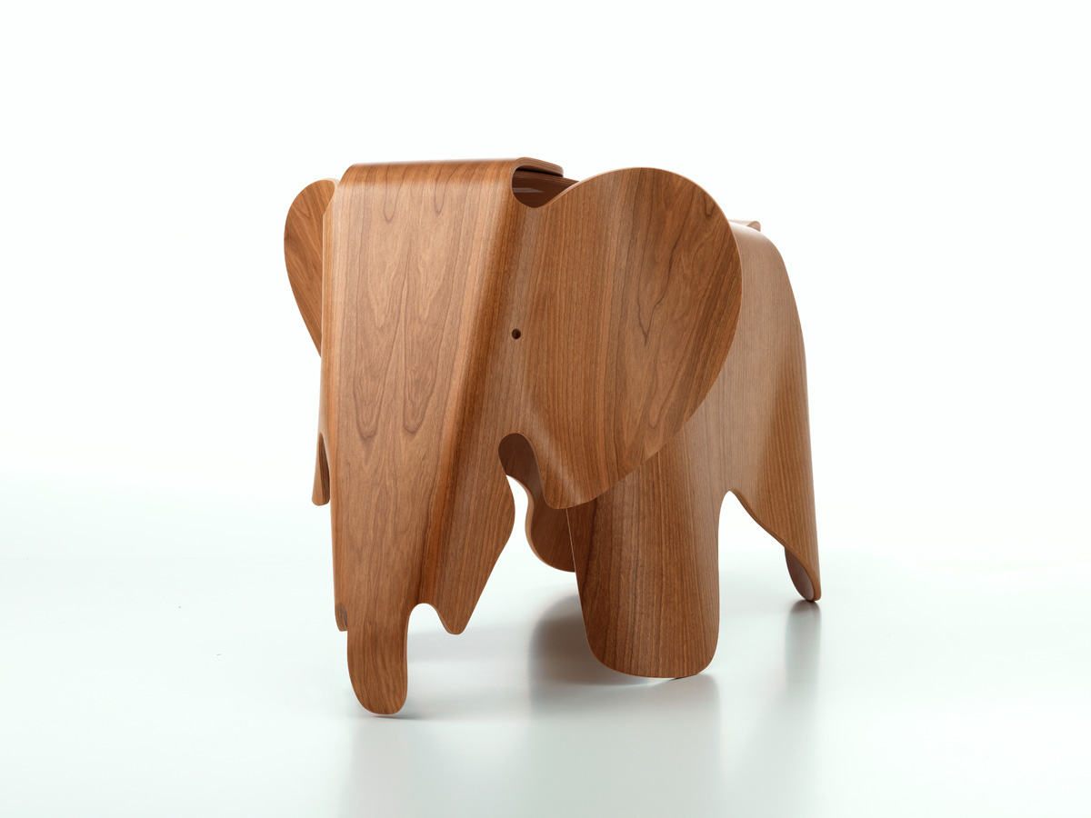 buy the vitra eames elephant plywood at. Black Bedroom Furniture Sets. Home Design Ideas