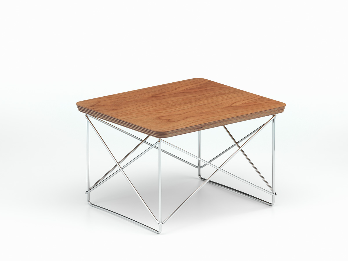 buy the vitra eames ltr occasional table american cherry at. Black Bedroom Furniture Sets. Home Design Ideas