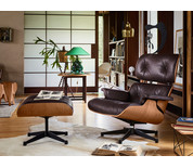 Vitra Eames Lounge Chair & Ottoman American Cherry