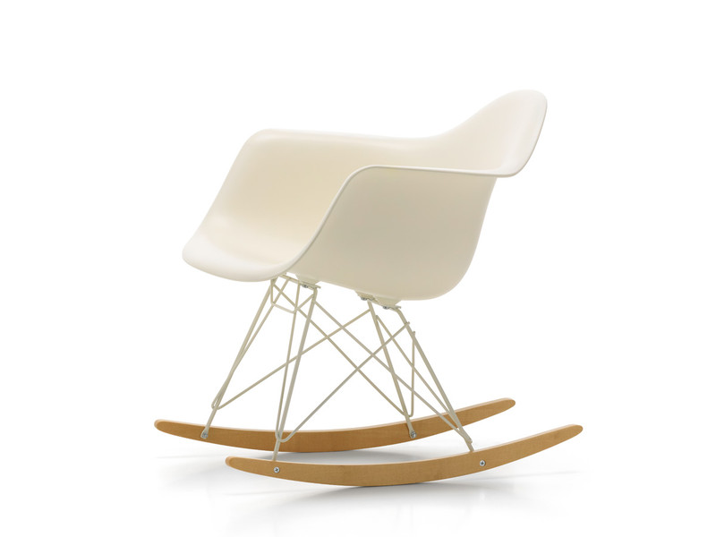 Vitra RAR Eames Plastic Armchair Cream Limited Edition