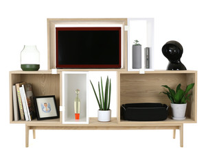 View Muuto Stacked Shelving System Composition 1