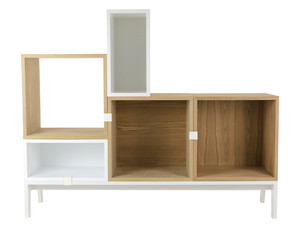 View Muuto Stacked Shelving System Composition 2