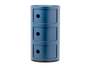 Kartell Componibili Round Storage Blue