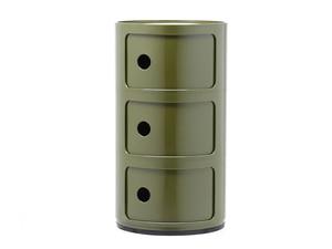 Kartell Componibili Round Storage Green