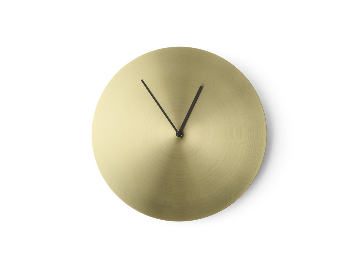 Buy the Menu Norm Wall Clock Metal at Nest.co.uk