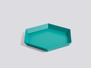 Hay Kaleido Tray Emerald Green