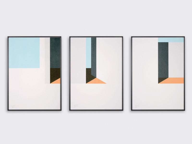 Tom Pigeon Islanders Set of 3 Screen Prints