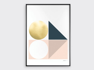 Tom Pigeon Anstruther Rise Screen Print