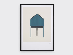 Tom Pigeon Tin Shed 2 Screen Print