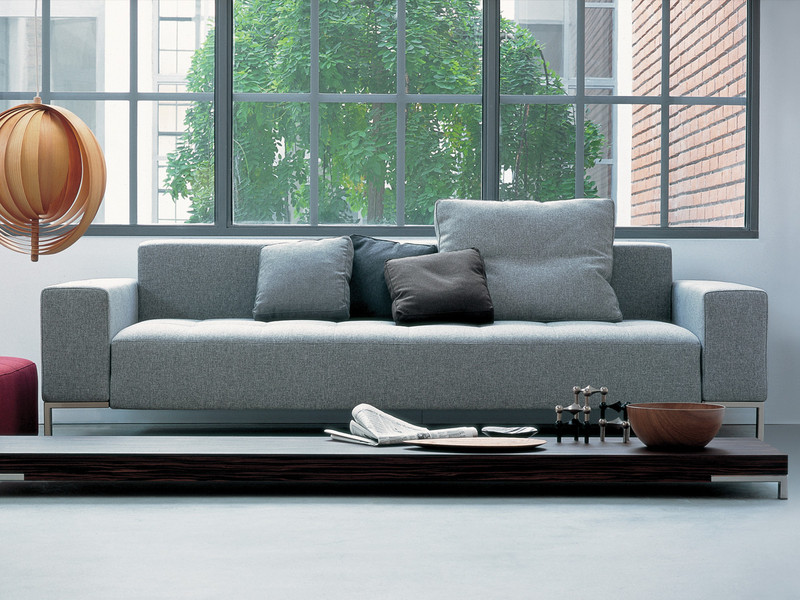 Zanotta 1326 Alfa Three Seater Sofa