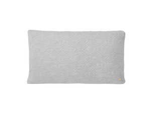 Ferm Living Quilt Cushion XL Light Grey