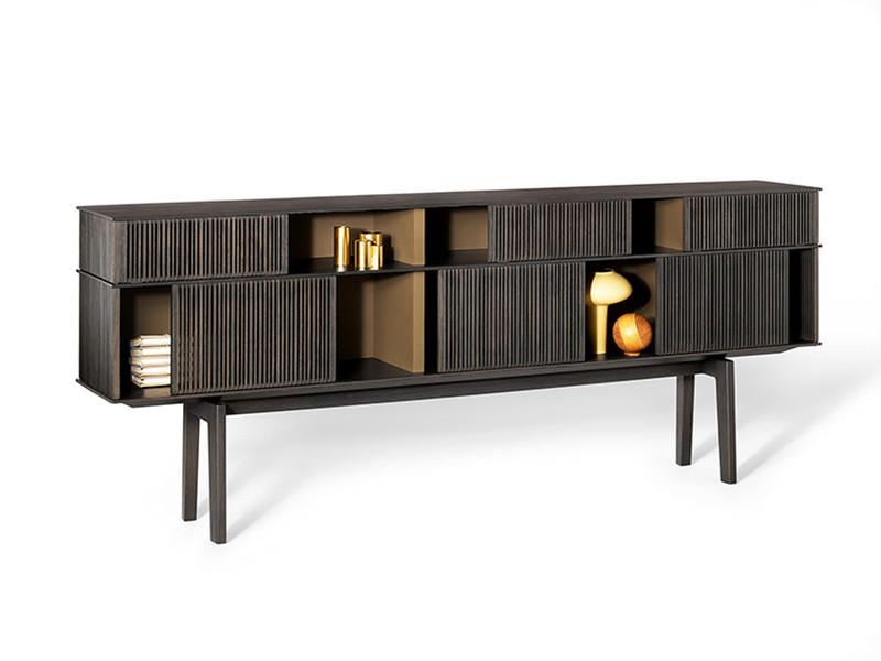 Buy the Poltrona Frau Lloyd High Cabinet at Nest.co.uk