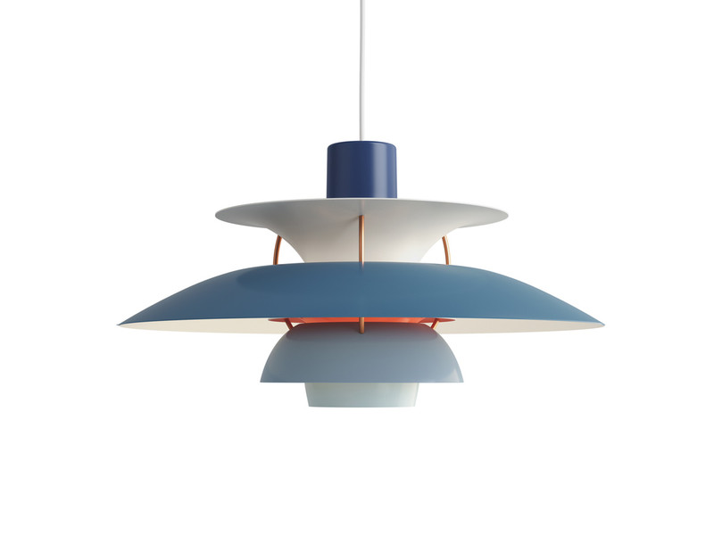 Louis poulsen ph 5 pendant light contemporary hues