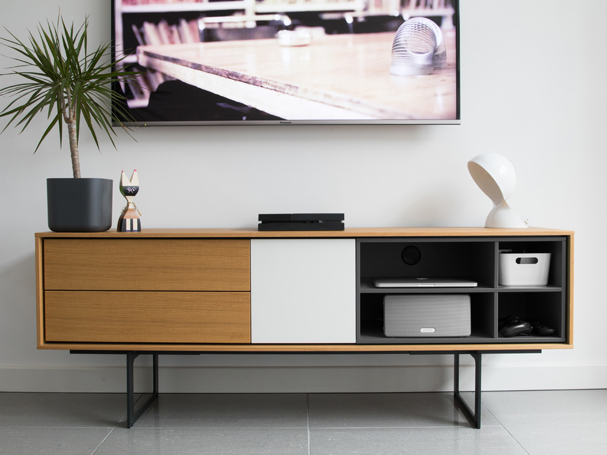 Buy The Treku Aura Tv Amp Media Unit At Nest Co Uk