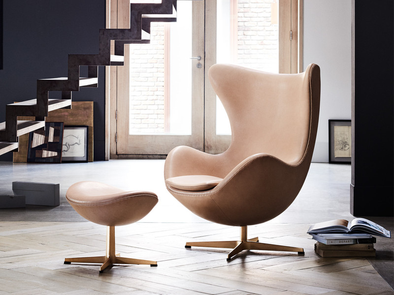 buy the fritz hansen 60th anniversary edition egg chair at. Black Bedroom Furniture Sets. Home Design Ideas