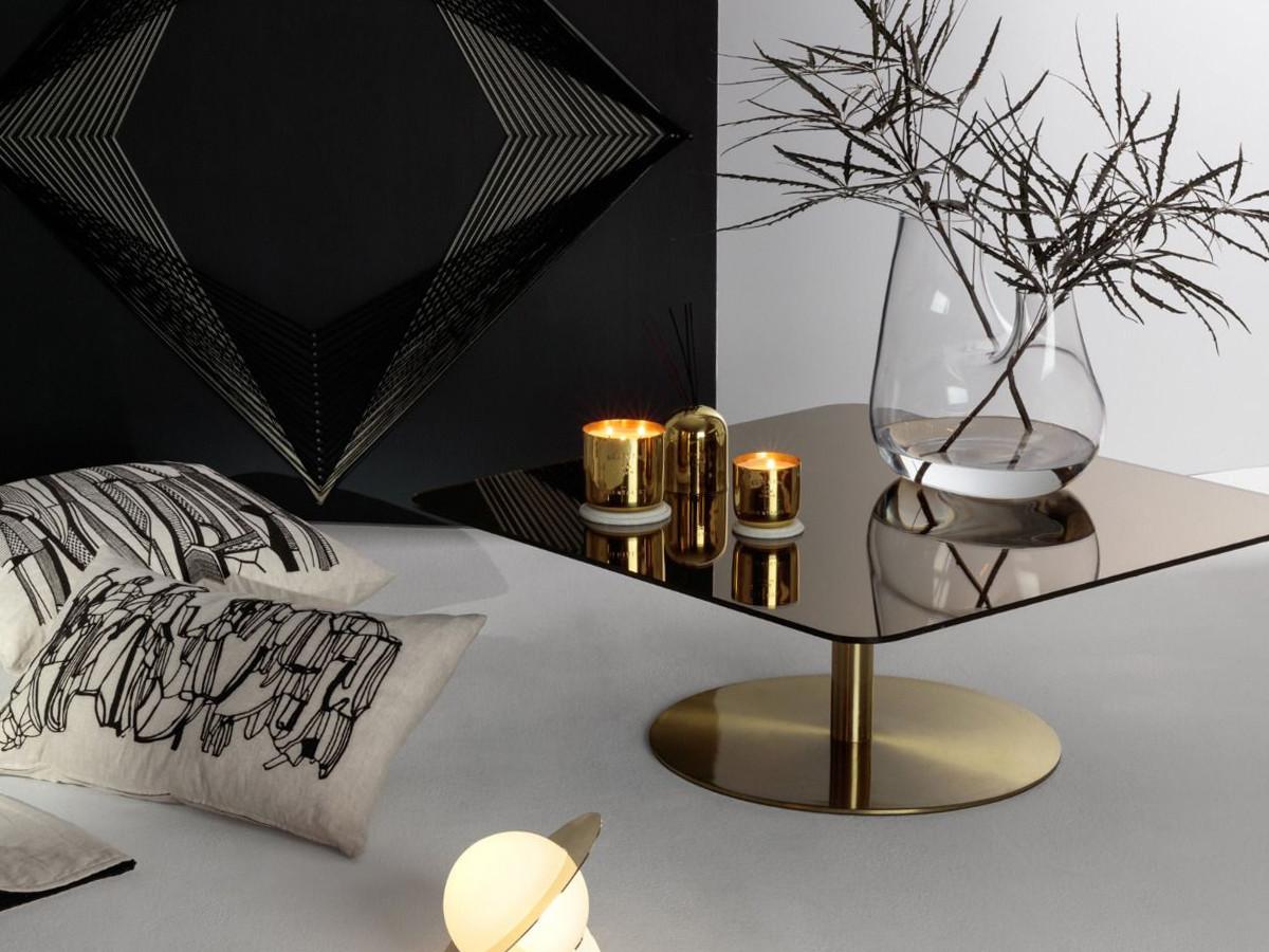 Buy The Tom Dixon Flash Square Table At Nestcouk - Tom dixon coffee table