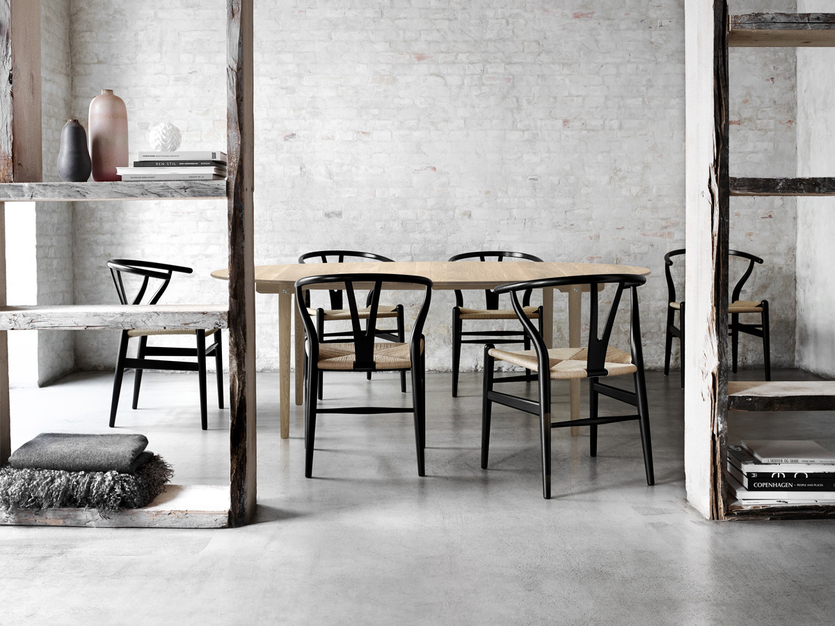 buy the carl hansen ch24 wishbone chair with painted frame at nest co uk