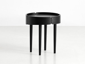 Woud Skirt Coffee Table Small