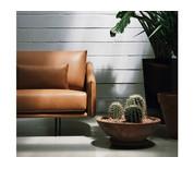 STUA Costura Two Seater Sofa Leather