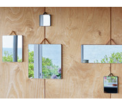 Hay Ruban Rectangular Mirror Small