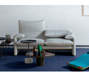 Cassina 675 Maralunga Classico Two Seater Sofa