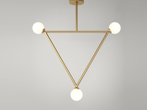 Atelier Areti Triangle Ceiling Light