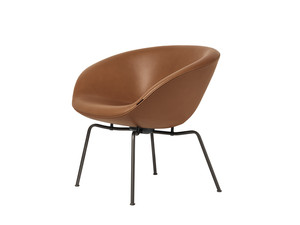Fritz Hansen Pot Chair - Leather