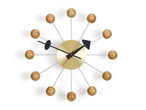 Vitra Ball Wall Clock Cherry