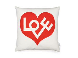 Vitra Graphic Print Pillows - Love
