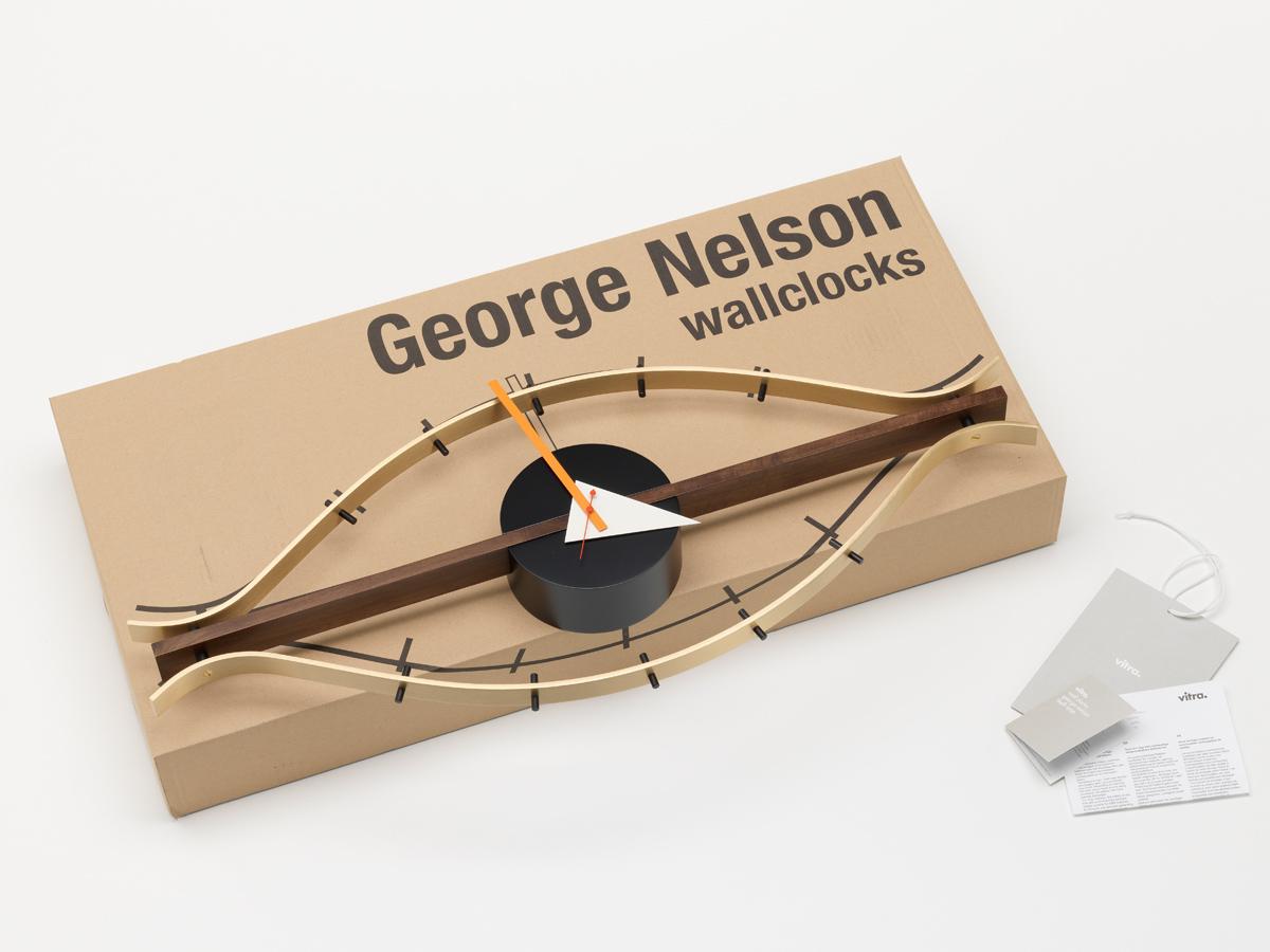 buy the vitra eye wall clock at. Black Bedroom Furniture Sets. Home Design Ideas
