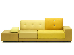 Vitra Polder Sofa Golden Yellow