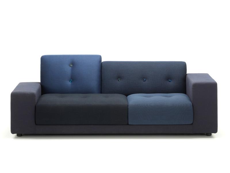 Vitra Polder Compact Sofa Night Blue