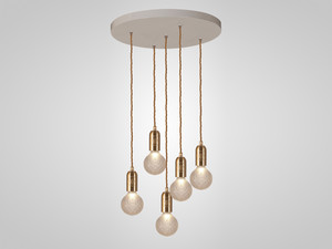 Lee Broom Crystal Bulb Chandelier