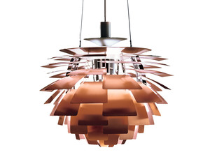 Louis Poulsen PH Artichoke Suspension Light Copper