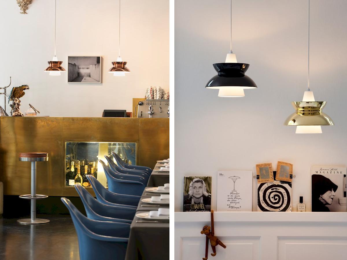 buy the louis poulsen doo wop pendant light metallic at. Black Bedroom Furniture Sets. Home Design Ideas