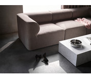 Menu Eave Three Seater Modular Sofa with Pouf