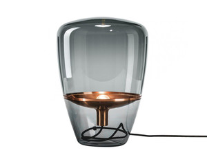Brokis Balloons Copper Table Lamp with Smoke Glass