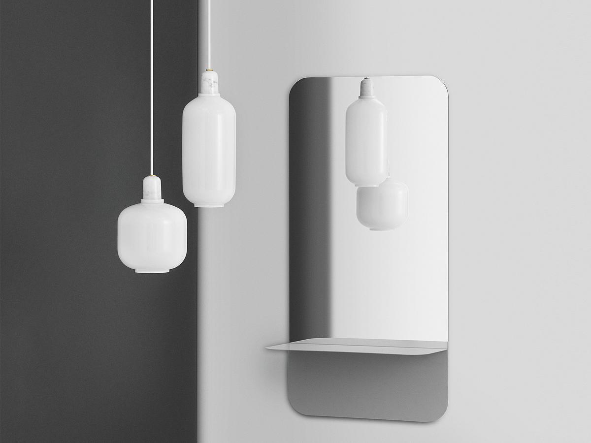 buy the normann copenhagen amp lamp pendant large at nest. Black Bedroom Furniture Sets. Home Design Ideas