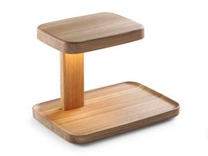 Flos Piani Big Wood Table Lamp