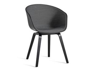 Hay About a Chair AAC22 with Front Upholstery (Surface by HAY)