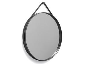 Hay Strap Mirror Anthracite