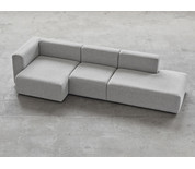 Hay Mags Three Seater Modular Sofa Combination 3