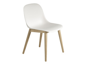 Muuto Fiber Side Chair Wood Base