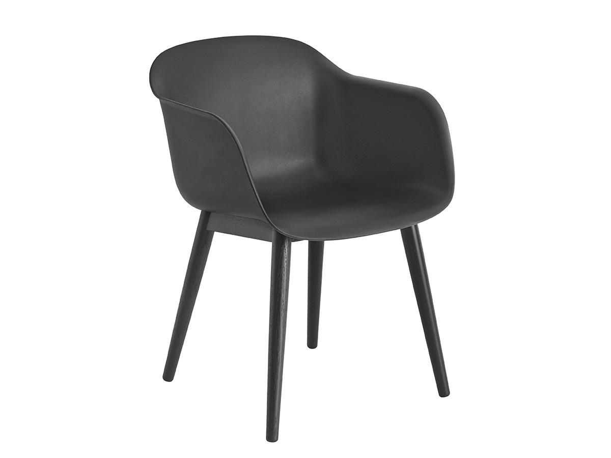 Buy The Muuto Fiber Armchair Wood Base At Nest Co Uk