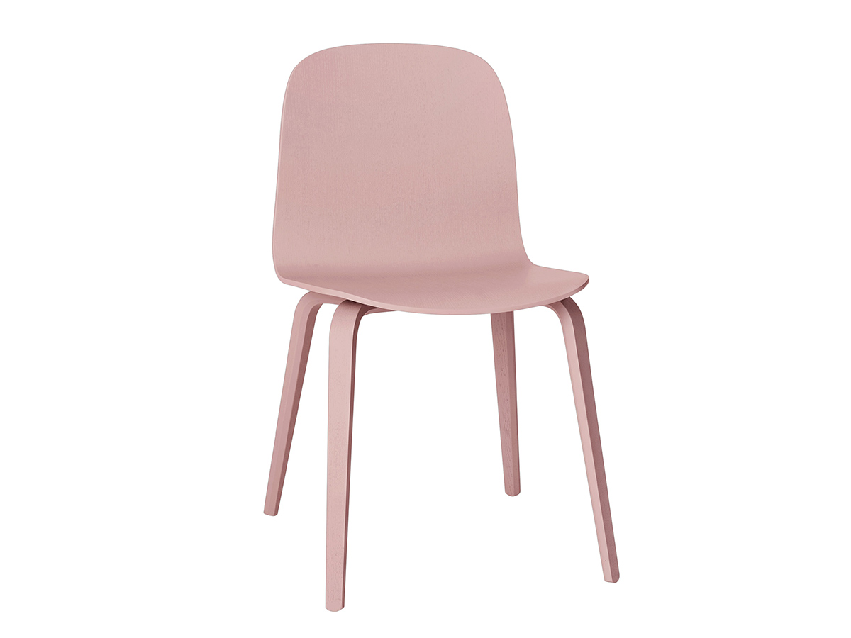 buy the muuto visu chair wooden base at nest co uk