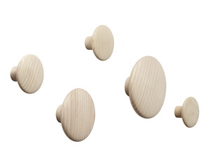 Muuto The Dots Coat Hooks - Set of 5